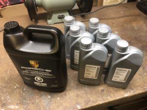 Porsche Coolant Gear Oil