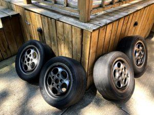 FS: 944 track wheel/tires