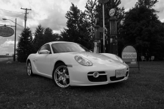 Cayman S Carrera White