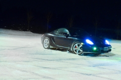 Cayman S in the Snow