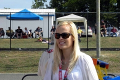People Watching at Mosport ALMS 2011