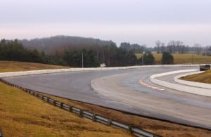 Corner 1, after the paving is done. Ryan Chalmers, CTMP