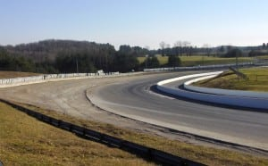 All the tires are moved and the ground is prepped for the new pavement on the run-off area at Corner 1. Ryan Chalmers, CTMP