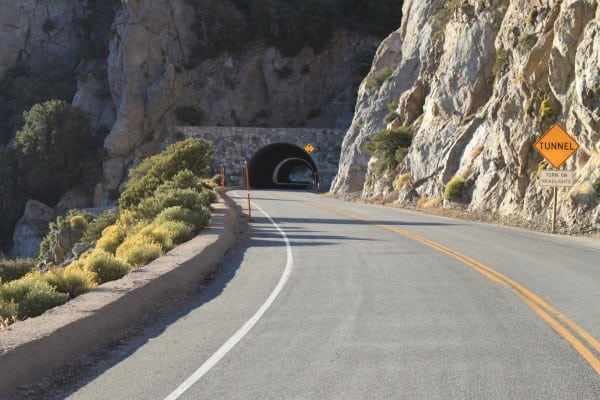 Angeles Crest Tunnel Approach