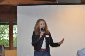 Laurel Ward describes her Camp 4S experience.