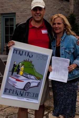 First place winners: Michael Pohlmann & Veronica Low, with a score of 51 out of 55