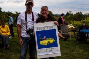 Third place winners: Mario & Debbie Goyette
