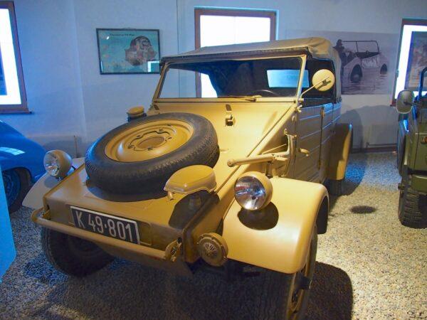 VW Kubelwagen, Porsche Museum Gmund, Photo by Ronan McGrath
