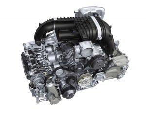 3) GT3 - 2014 - 3.8L Engine Cutaway ViewWR