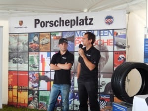 2. Left to right - Team Falken Tire Drivers Bryan Sellers, Wolf Henzler TUDOR Porscheplatzx_July  2015