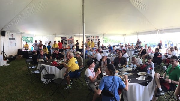 6. Porsche Hospitality Tent_Photo courtesy of Aaron Ambrosino_PCA National Treasurere