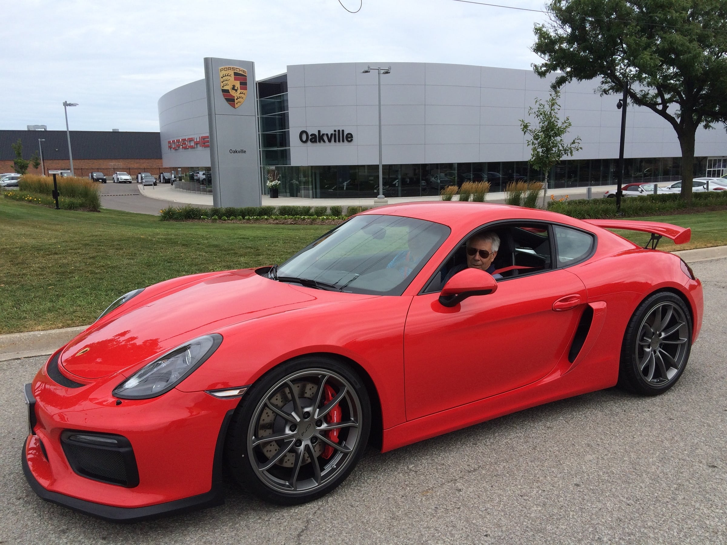 unveiling porsche cayman gt4 taking delivery of the. Black Bedroom Furniture Sets. Home Design Ideas