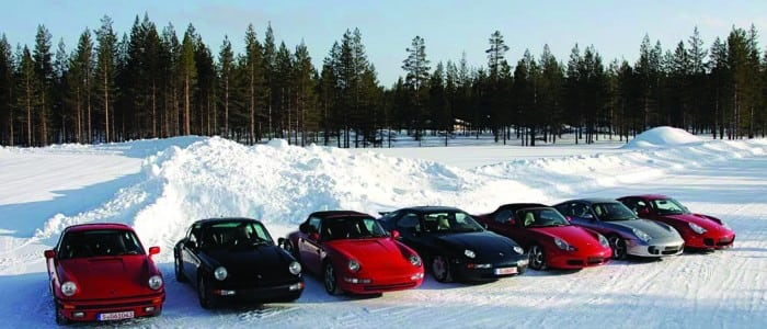 P14 - Winter Porsches 1