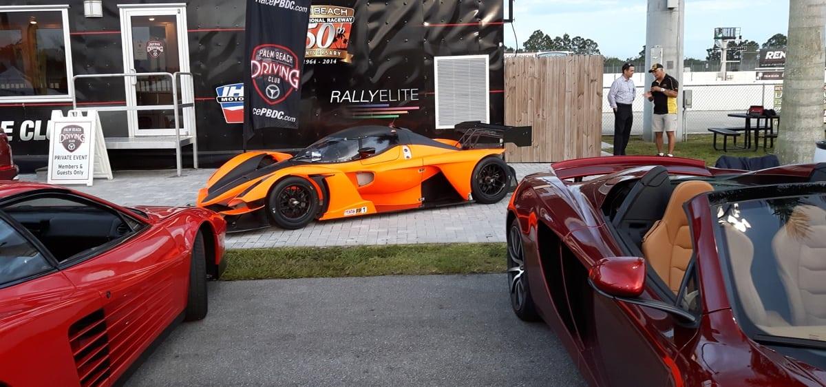 McClaran and Ferrari PBR Clubhouse