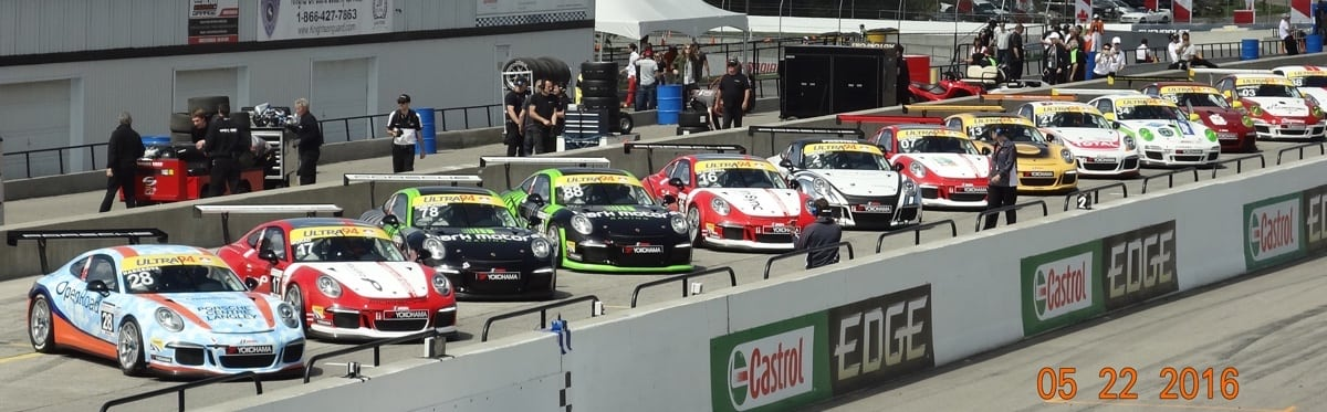3. GT3 Cup Cars Staging