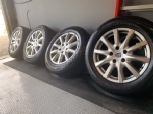 cayenne rims and tires