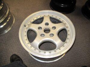 3 piece Porsche wheel
