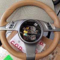 9972 Beige Steering Wheel